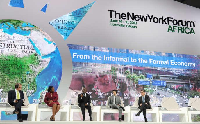 Le Forum africain, dédiée au développement économique de l'Afrique, en 2013.