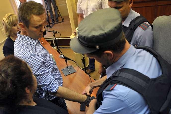 L'opposant russe Alexeï Navalny a été condamné à cinq ans de prison.