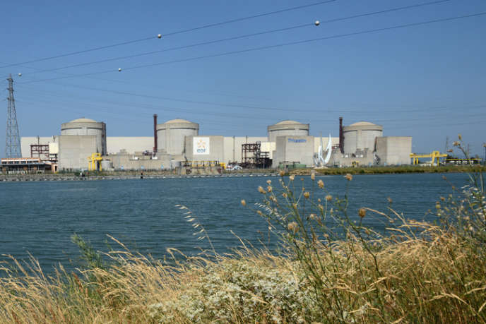 Centrale nucléaire du Tricastin, près de Pierrelatte.