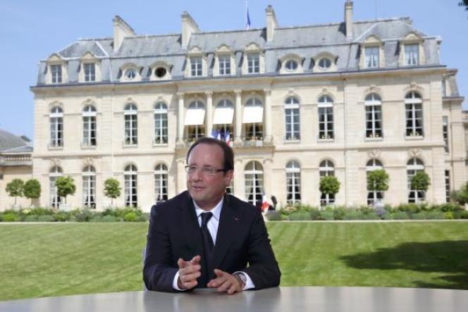 L'interview du 14-Juillet de François Hollande. Le chef de l'Etat a fait le pari que la crise actuelle est cyclique et que l'économie française finira par atteindre le point bas du cycle et par remonter. Son gouvernement s'accroche à cette idée.
