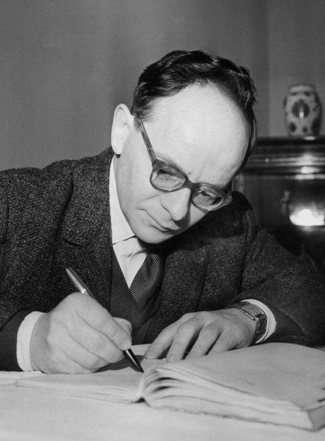 Henri Alleg en 1962.