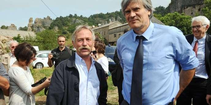 Le ministre de l'agriculture, Stéphane Le Foll, a prolongé le 19 juillet 2013 le bail de la SCT du Larzac.