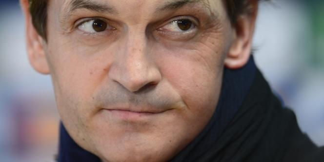 L'ancien entraîneur du FC Barcelone Tito Vilanova le 30 avril.