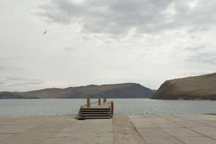 L'embarcadère du ferry vers l'île Olkhon.