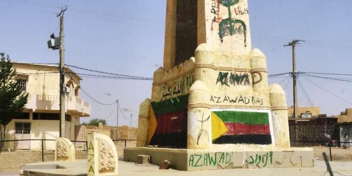 Vue de la ville de Kidal, le 17 juillet 2013.
