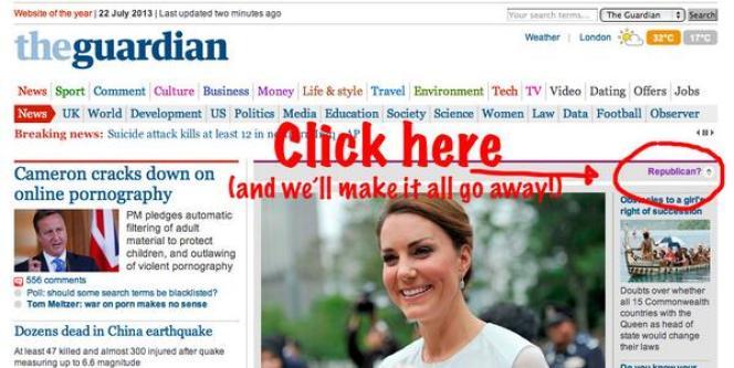 Le site du Guardian.