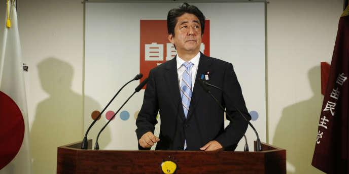 Le premier ministre japonais Shinzo Abe le 22 juillet 2013.