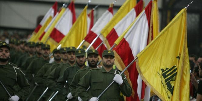 Des combattants du Hezbollah, en novembre 2009.