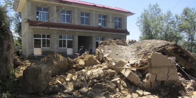 Un séisme de magnitude 5,9 avait déjà frappé la Chine en juillet.