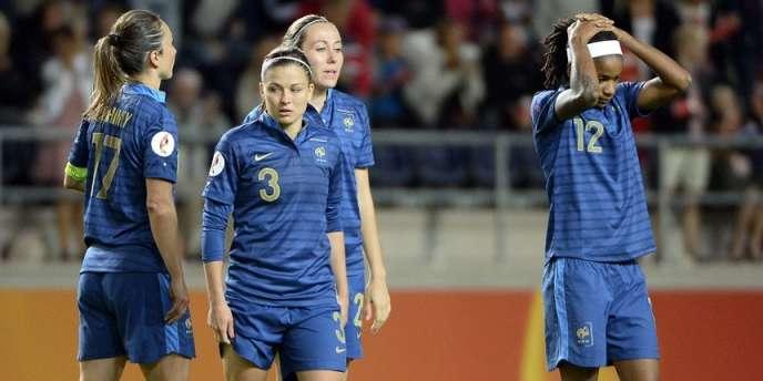 Les Bleues avaient arraché les prolongations (1-1) sur un penalty, mais se sont finalement inclinées aux tirs au but.