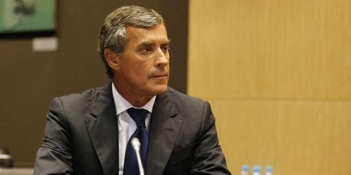Jérôme Cahuzac lors de son audition devant la commission parlementaire, fin juillet.