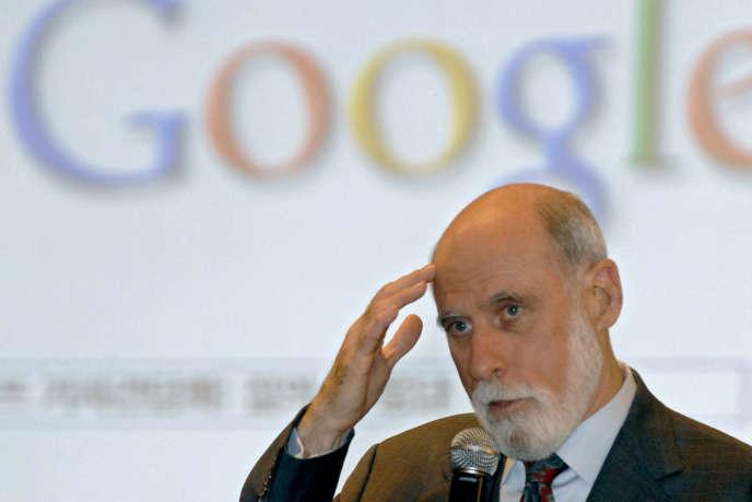 Vinton Cerf, l'un des pères fondateurs de l'Internet (ici à Séoul en 2007).