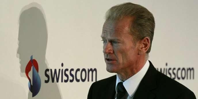 L'Allemand Carsten Schloter avait été nommé directeur général de Swisscom en 2006 (photo prise le 17 février 2011).