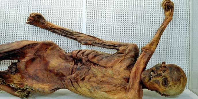 Ötzi a été retrouvé sur le massif de l'Ötzal, en 1991, à 3 200 mètres d'altitude.