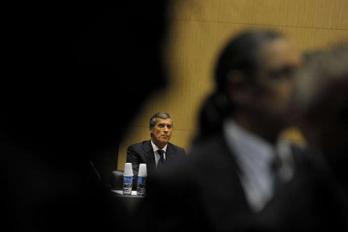 Jérôme Cahuzac auditionné par les députés de la commission d'enquête parlementaire à l'Assemblée nationale, le 23 juillet.