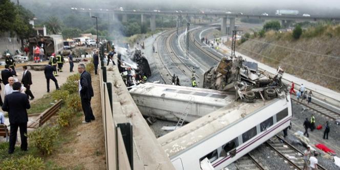 L'accident de train près de Saint-Jacques-de-Compostelle avait fait 79 morts, le 24 juillet 2013.