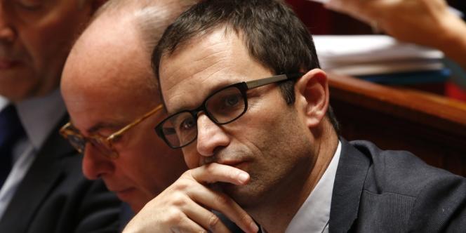 Le ministre délégué à l'économie sociale et solidaire, Benoît Hamon, le 9 juillet à l'Assemblée.