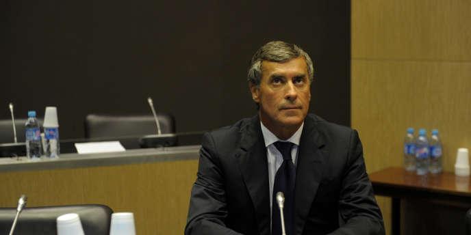Jérôme Cahuzac auditionné par les députés de la commission d'enquête parlementaire à l' Assemblée nationale de Paris, le 23 juillet.