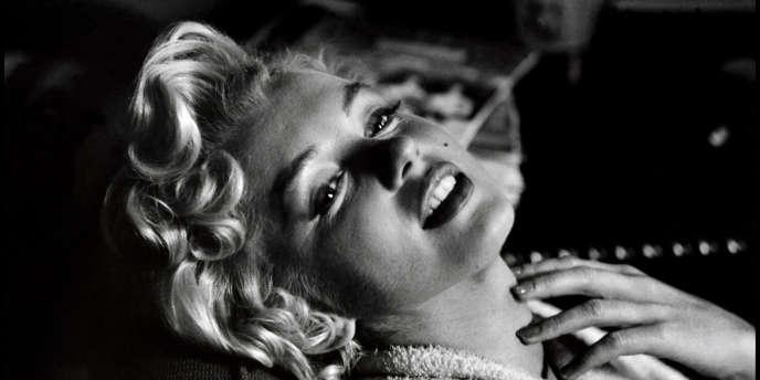 Marilyn Monroe, en 1956.