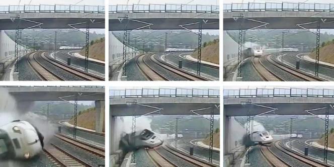 Le déraillement du train, le 24 juillet, à Saint-Jacques-de-Compostelle, dans le nord-ouest de l'Espagne, a causé la mort de 79 morts.