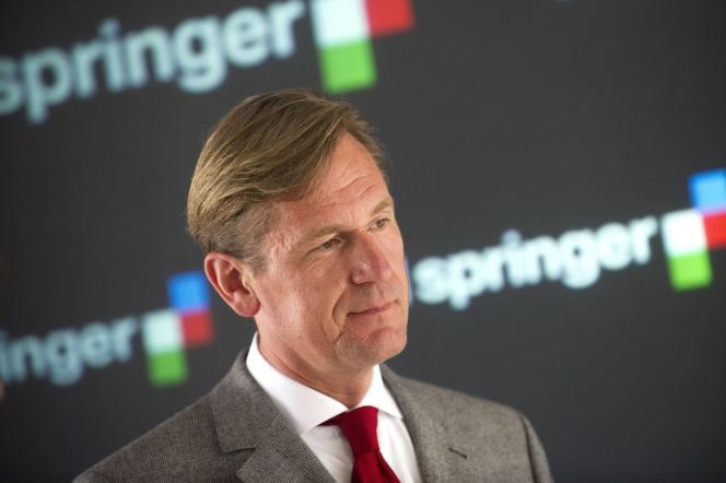 Le patron d'Axel Springer, Mathias Döpfner, le 25 juillet.