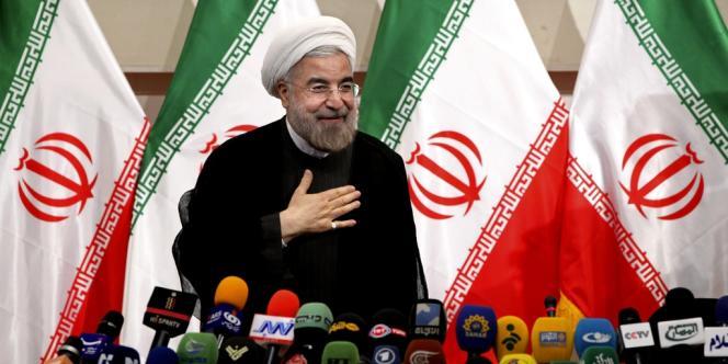 Le nouveau président iranien Hassan Rohani a pris ses fonctions le 4 août.