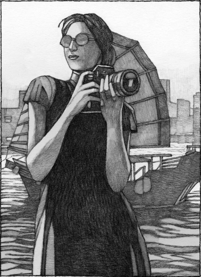 Une illustration de Miles Hyman pour