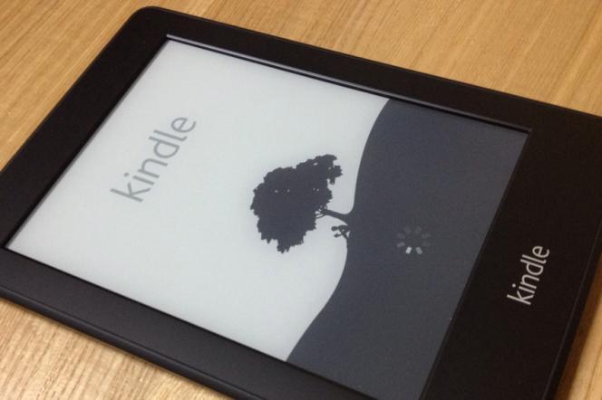 Une liseuse Kindle d'Amazon.