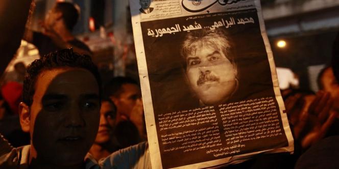 La centrale syndicale tunisienne UGTT a lancé un appel à la grève générale après l'assassinat du député Mohamed Brahmi.