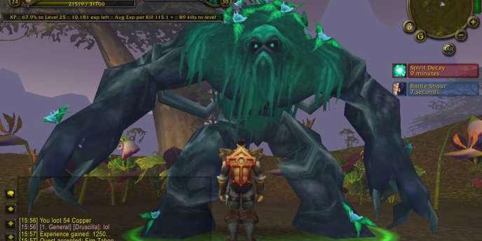 La franchise World of Warcarft - un jeu de rôle en ligne - d'Activision Blizzard accuse déjà une nette contraction de son nombre d'abonnés payants.