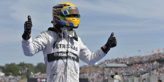 Lewis Hamilton a remporté sa quatrième victoire en Hongrie.