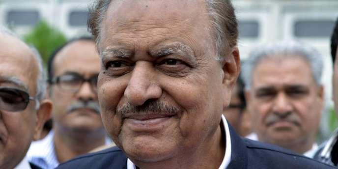 L'homme d'affaires Mamnoon Hussain a été élu président du Pakistan, une fonction surtout symbolique – ici le 24 juillet.