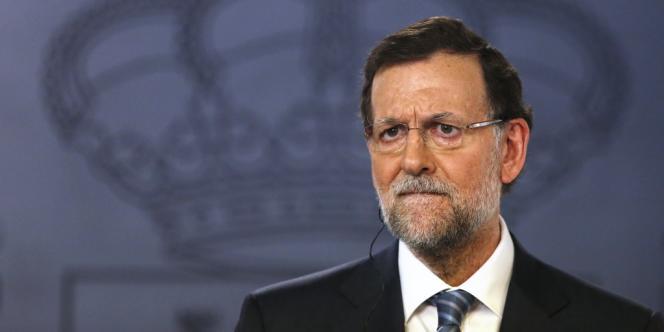 Le chef du gouvernement espagnol, Mariano Rajoy, le 22 juillet.