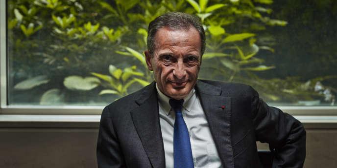 Le PDG d'EDF, Henri Proglio, le 29 juillet 2013 à Paris.