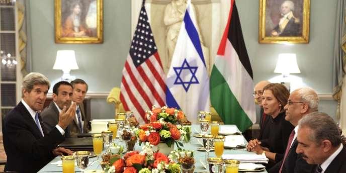 Début des négociations de paix, lundi 29 juillet à Washington.