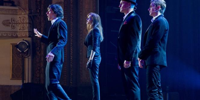 Jesse Eisenberg, Isla Fisher, Woody Harrelson et Dave Franco dans
