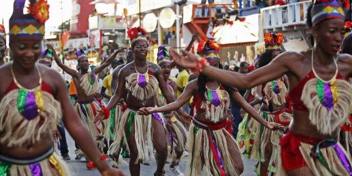 Carnaval des fleurs d'Haïti, le 29 juillet à Port-au-Prince.