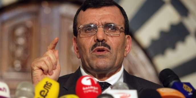 Le premier ministre tunisien, Ali Layaredh, le 29 juillet.