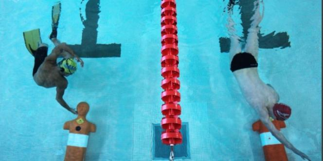 Seule l'épreuve en piscine était au programme des Jeux mondiaux 2013.