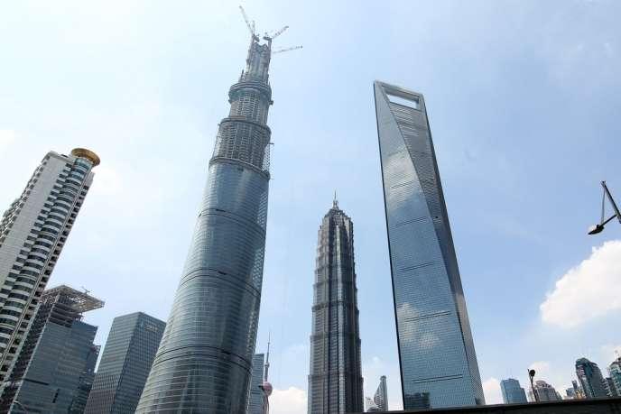 Les Villes Chinoises Veulent Toutes Leurs Gratte Ciel Geants