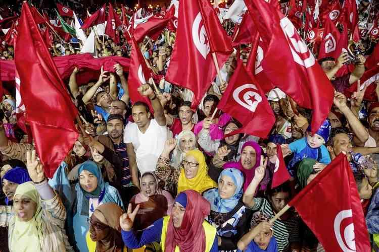 """""""Si vous voulez un référendum, on le fera"""", a encore lancé Rached Ghannouchi."""