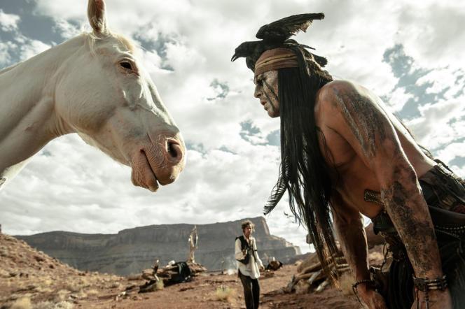 Johnny Depp dans le film américain de Gore Verbinski,