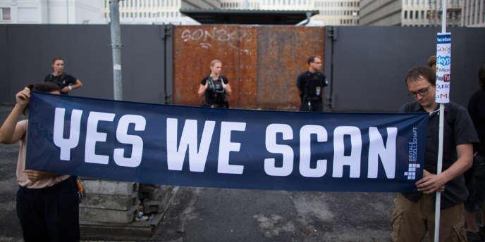 Manifestation contre la NSA le 29 juillet à Berlin.