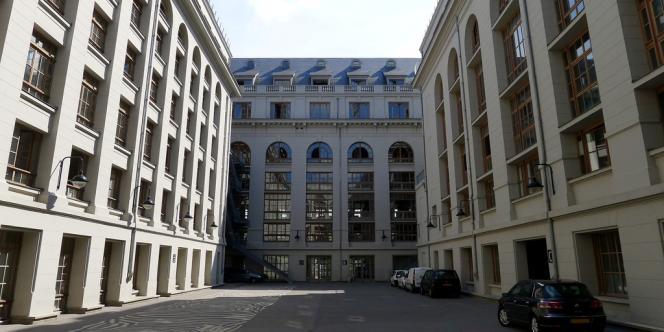 Les locaux de l'université Paris-Diderot, sur le site des Grands-Moulins, dans le 13e arrondissement de Paris.