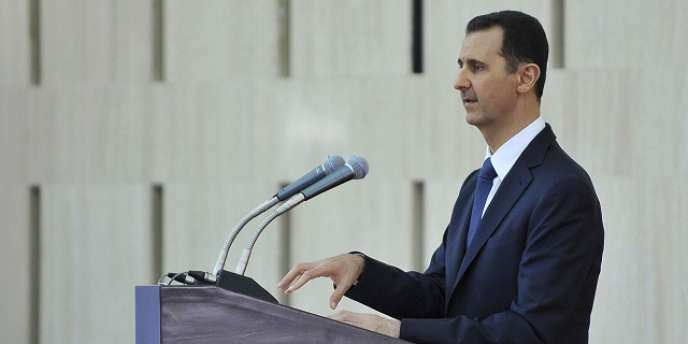 Le président syrien, Bachar Al-Assad, le 4 août à Damas.