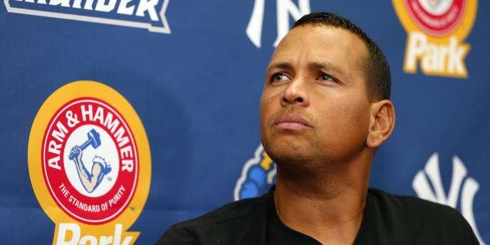 Le joueur des New York Yankees Alex Rodriguez, le 3 août.