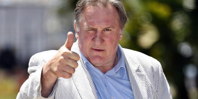 Gérard Depardieu à Nice le 6 juin.