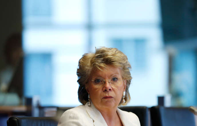 La vice-présidente de la Commission européenne, chargée de la justice, Viviane Reding, à Bruxelles, le 19 juin 2013.