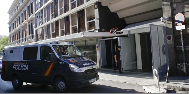 Le pédophile espagnol a été arrêté à Murcie (Espagne) lundi 5 août.