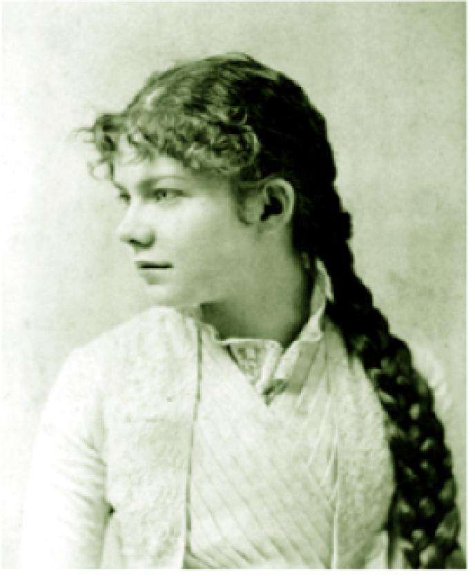 Amy Beach, compositrice et pianiste américaine (1867-1944).
